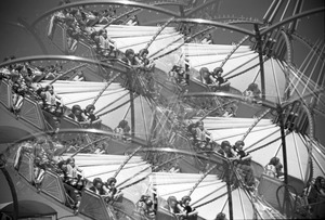 Amusement ride (multi-image prism), Paragon Park, Nantasket