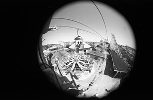 Amusement park ride (fisheye lens), Paragon Park, Nantasket