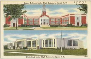 Emmet Belknap Junior High School, Lockport, N. Y. North Park Junior High School, Lockport, N. Y.