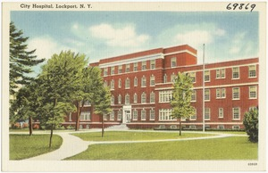 City Hospital, Lockport, N. Y.