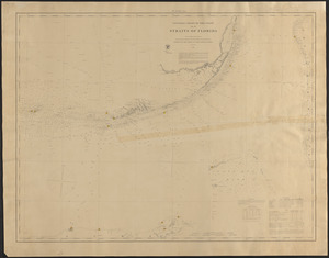 General chart of the coast, Straits of Florida