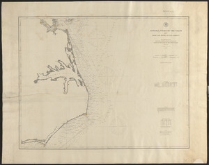 General chart of the coast from Cape Henry to Cape Lookout