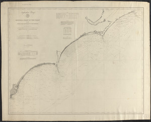 General chart of the coast from Cape Hatteras to Cape Romain