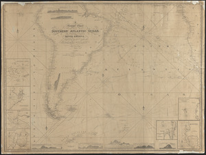 A general chart of the southern Atlantic Ocean and western coast of South America