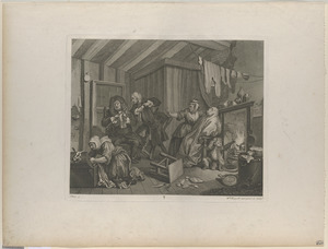A harlot's progress, plate 5