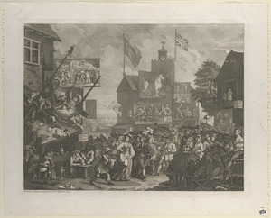 Southwark Fair (or the humours of a fair)