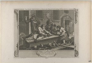 Pl. 3. The idle 'prentice at play in the church yard