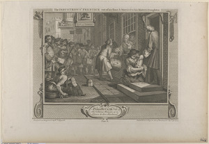 Pl. 6. The industrious 'Prentice out of his time and married to his master's daughter