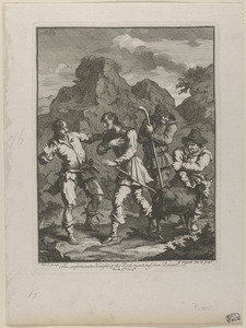 Don Quixote and the Knight of the Rock