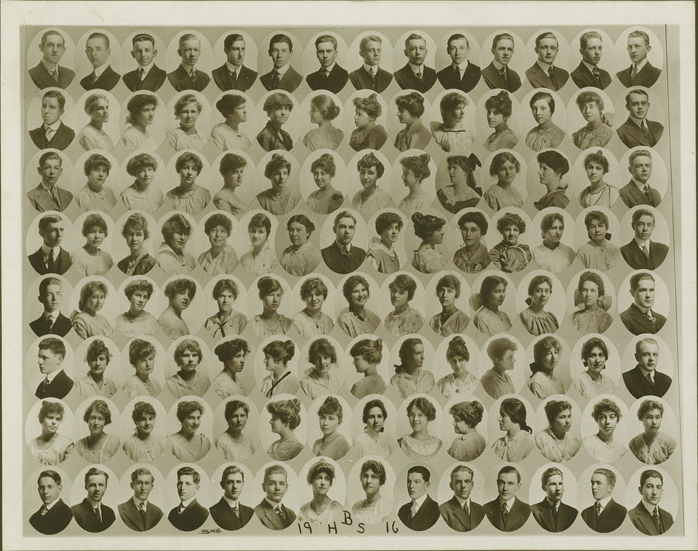 Class picture. Class of 1916.
