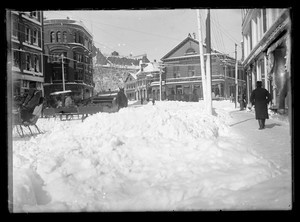 Harvard Square Snow Storm