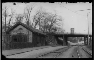 First Longwood Railroad Station