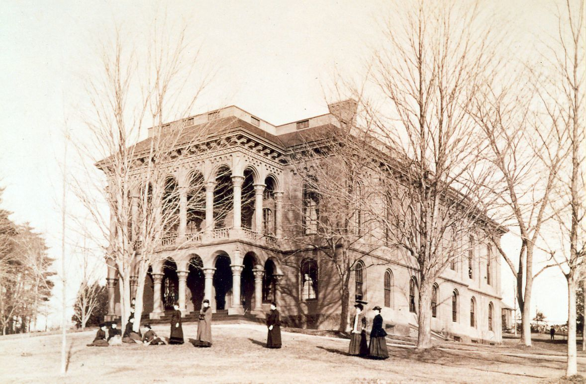 Normal Hall, c.1860