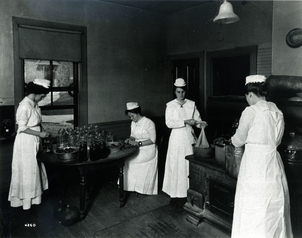 Household Arts, the early 1900's
