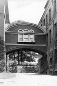 The Bridge of Sighs - Wells Hall & May Hall, c.1950