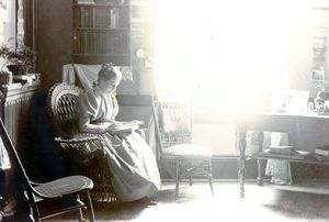 A Student Room, c.1890