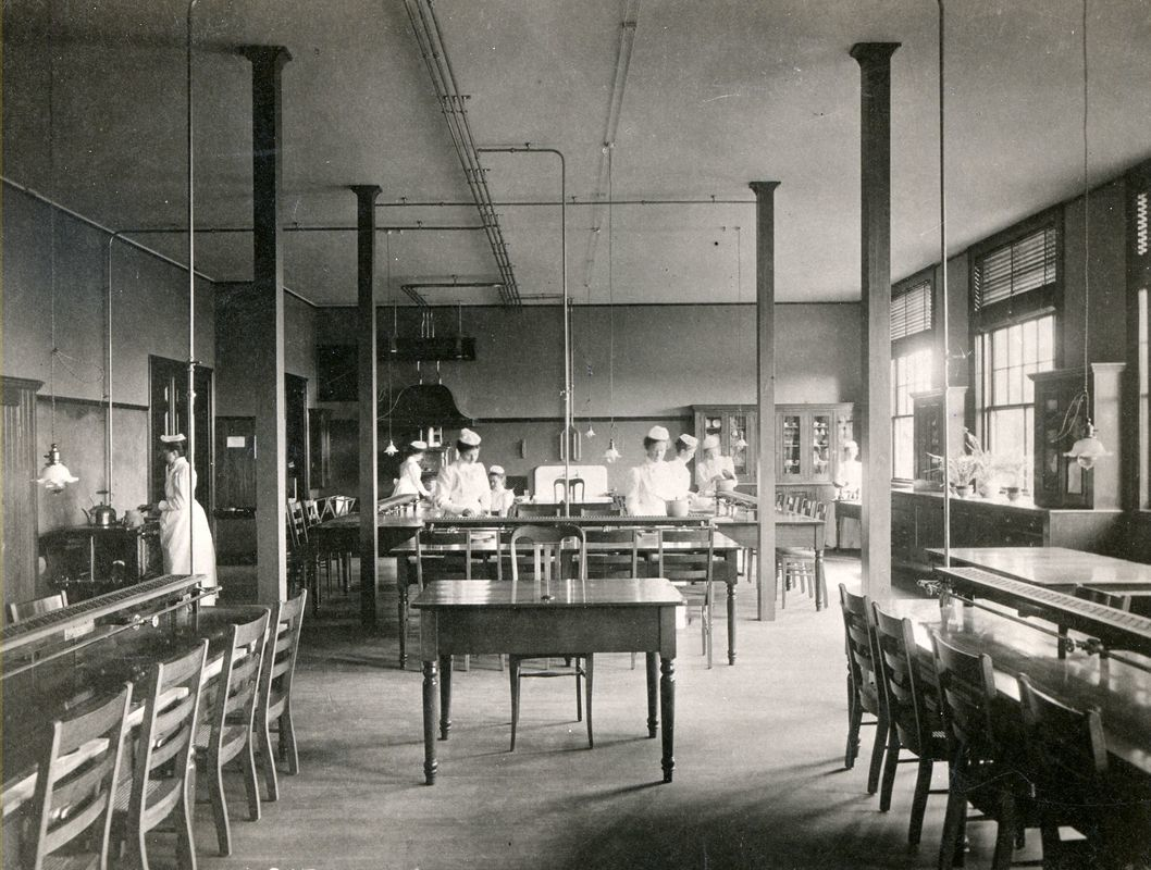 A Cooking Class, c.1890