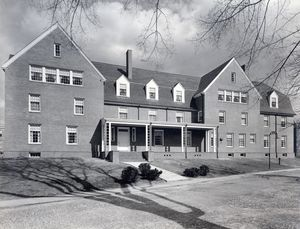 Crocker Hall, c. 1963