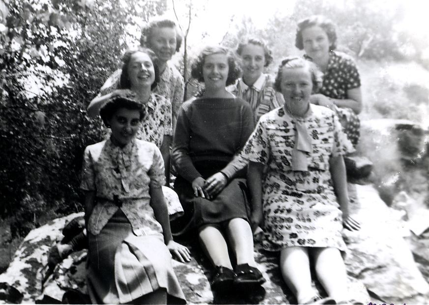 Group Portrait of Students in 1938