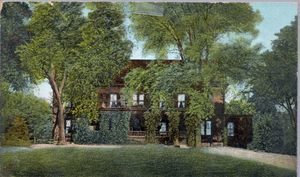 Normal Hall Dormitory Postcard c. 1900-1914