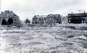 Three Historic Buildings on Bare Hill Framingham Campus c. 1889-1913