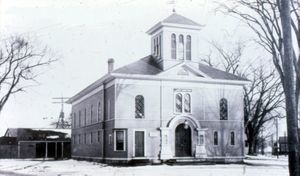 The Lexington Normal School Building c.1900
