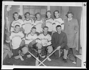 Arlington high school hockey team