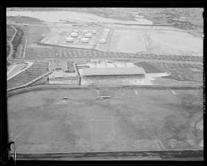 Aerial view of Suffolk Downs