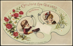 Celluloid eye glasses - perfection.