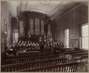 Boy's Choir, Perkins Institution, South Boston
