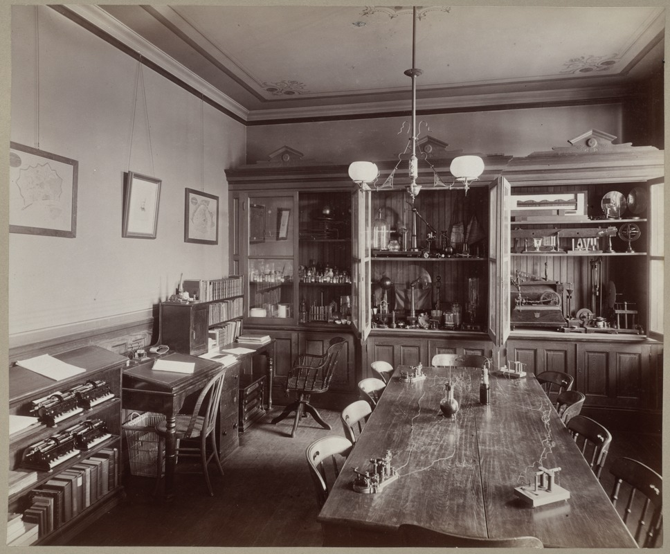 Apparatus Room (Physics Room), Perkins Institution