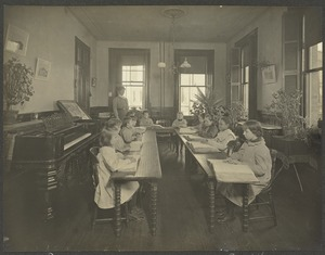 Class in Reading, Girls' Primary