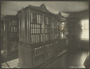 A Case in the Library, Perkins Institution