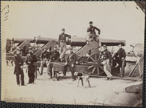 3d Massachusetts Heavy Artillery at Fort Totten