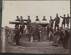 3d Massachusetts Heavy Artillery at Fort Totten near Washington