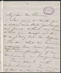 Harriet Beecher Stowe autograph letter signed to [Mary Ashton (Rice)] Livermore