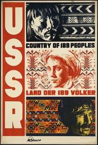 USSR. Country of 189 peoples. Land der 189 völker