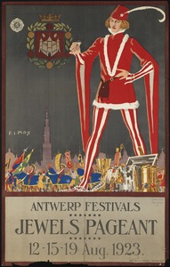 Jewels pageant. Antwerp festivals