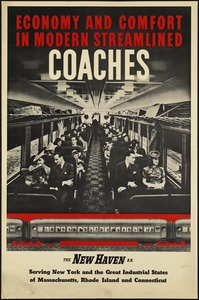 Economy and comfort in modern streamlined coaches
