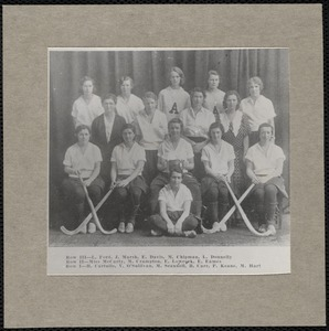 Arlington High School - girls field hockey team