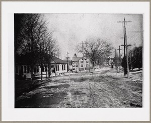 Chestnut and Medford Streets; St. Agnes School on the left