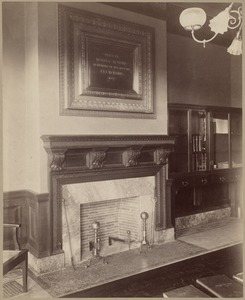 Catalog room fireplace