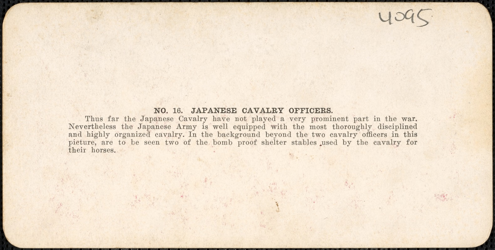Japanese cavalry officers