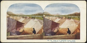 View in a Japanese army camp