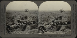"""""""Down in a shell crater we fought"""" -Battle of Cambrai"""