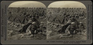 On the Moselle -90th Division doughboys resting before review, Treves