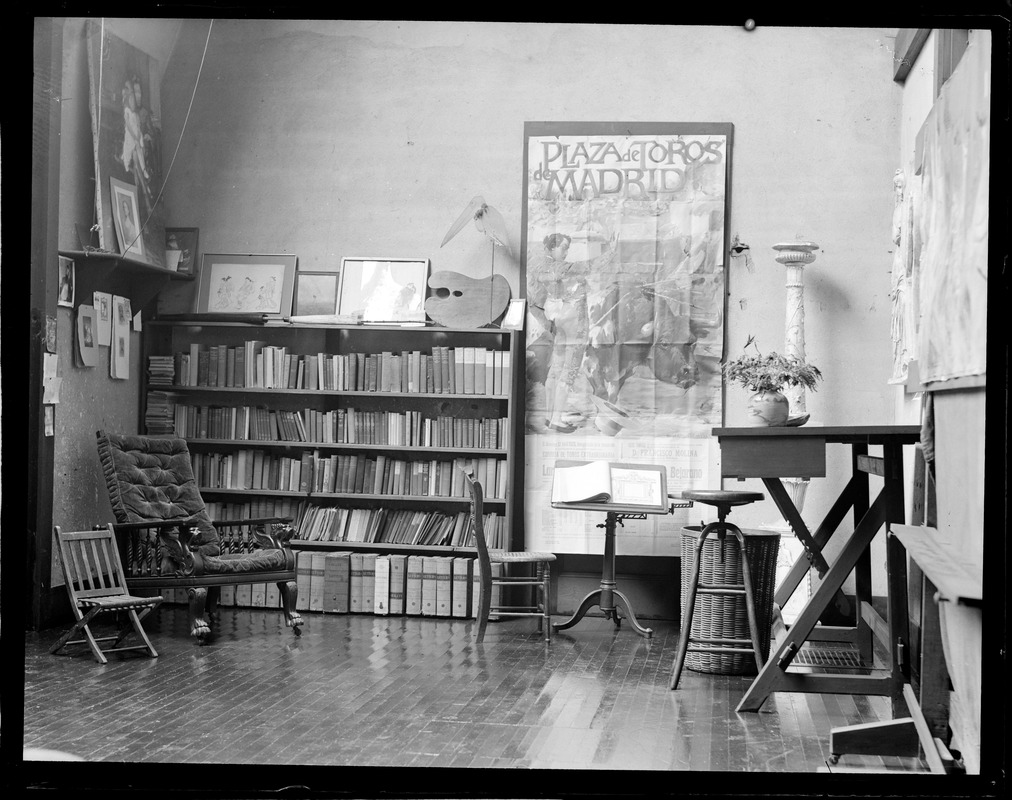 St. Gaudens private library