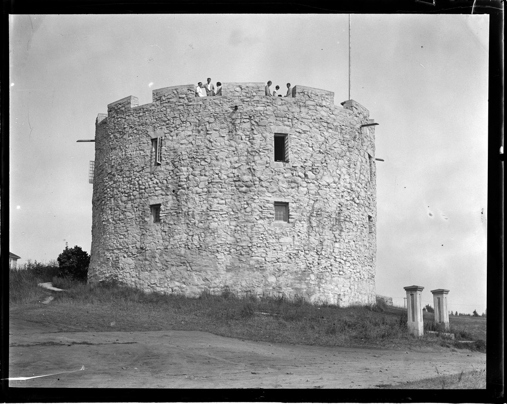 Old Fort in Pemaquid(?), Maine