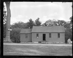 Daniel Webster's birthplace, Franklin, N.H.