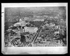 Aerial view, Washington D.C.